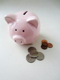 świnka skarbonka i oszczędzanie pieniędzy